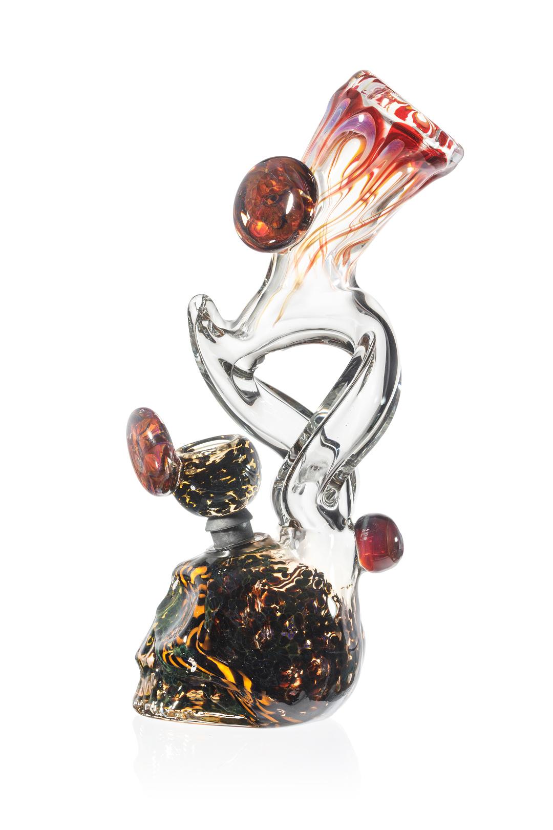 Gothic Skull Glass Bong Smoke Nut Com Smoke Nut Com